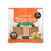 (유통기한21.08.14)웅자오빠가만든 맛있는 수제간식 치킨꽈배기껌 250g