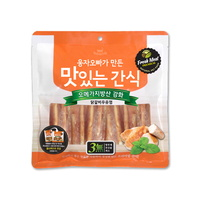 (유통기한21.08.14)웅자오빠가만든 맛있는 수제간식 닭갈비우유껌 250g