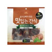(유통기한21.08.14)웅자오빠가만든 맛있는 수제간식 오리고구마말이 250g