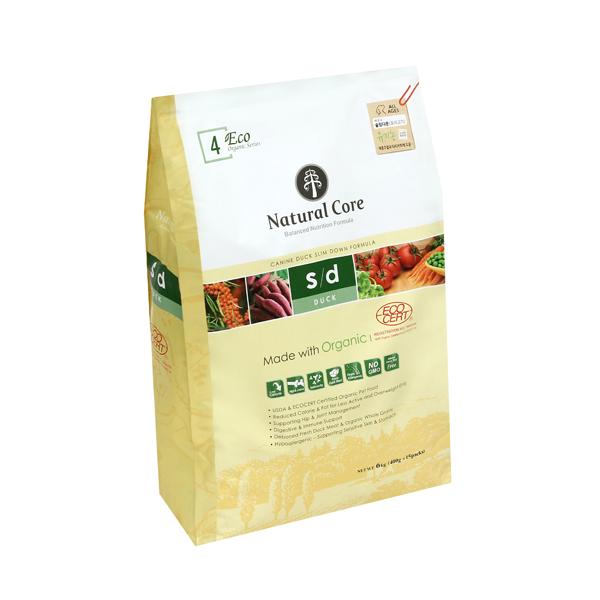 네츄럴코어 유기농 애견사료 에코4 슬림다운 오리고기 6kg