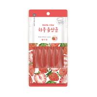 (유통기한21.07.07)네츄럴코어 하루유산균 딸기맛 덴탈츄 6p