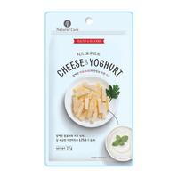 (유통기한21.09.27)네츄럴코어 치즈 요구르트 강아지 간식 27g