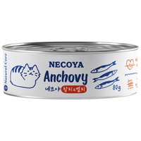 (유통기한21.09.29)네코야 참치와 멸치 고양이 캔 간식 80g