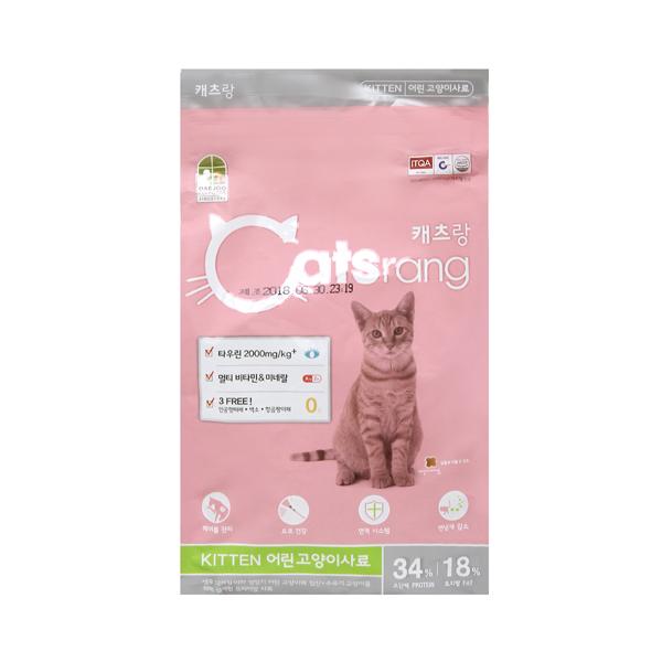 캐츠랑 고양이 사료 키튼 1.5kg