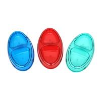애니펫 투명 쌍식기 (색상랜덤)