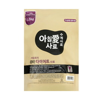 아침애 강아지 사료 수제사료 곤약 다이어트사료 1.8kg