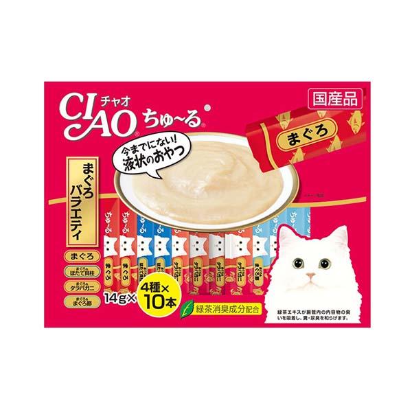 이나바 고양이 챠오츄르 참치 버라이어티 14g 40개입