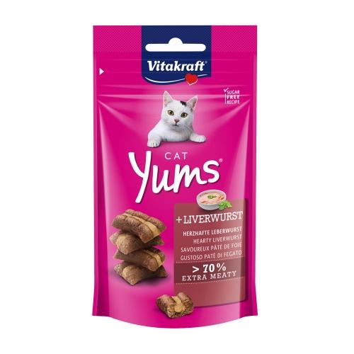 비타크래프트 고양이 간식 캣얌 리버소세지 40g
