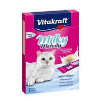 비타크래프트 고양이 간식 밀키멜로디 퓨어 10g 7개