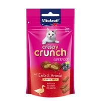 (유통기한21.01.30)비타크래프트 고양이 간식 크리스피 크런치 오리 아로니아 60g