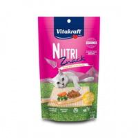 (유통기한21.08.04)비타크래프트 고양이 간식 뉴트리즈낵 캣 닭고기 당근 앤 파슬리 40g