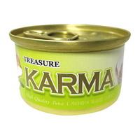 (유통기한21.12.10)카르마 고양이 캔 가다랑어 라이스 80g