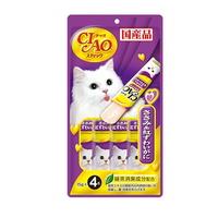 (유통기한21.12.01)이나바 고양이 챠오스틱 닭가슴살 게살 15g 4개입