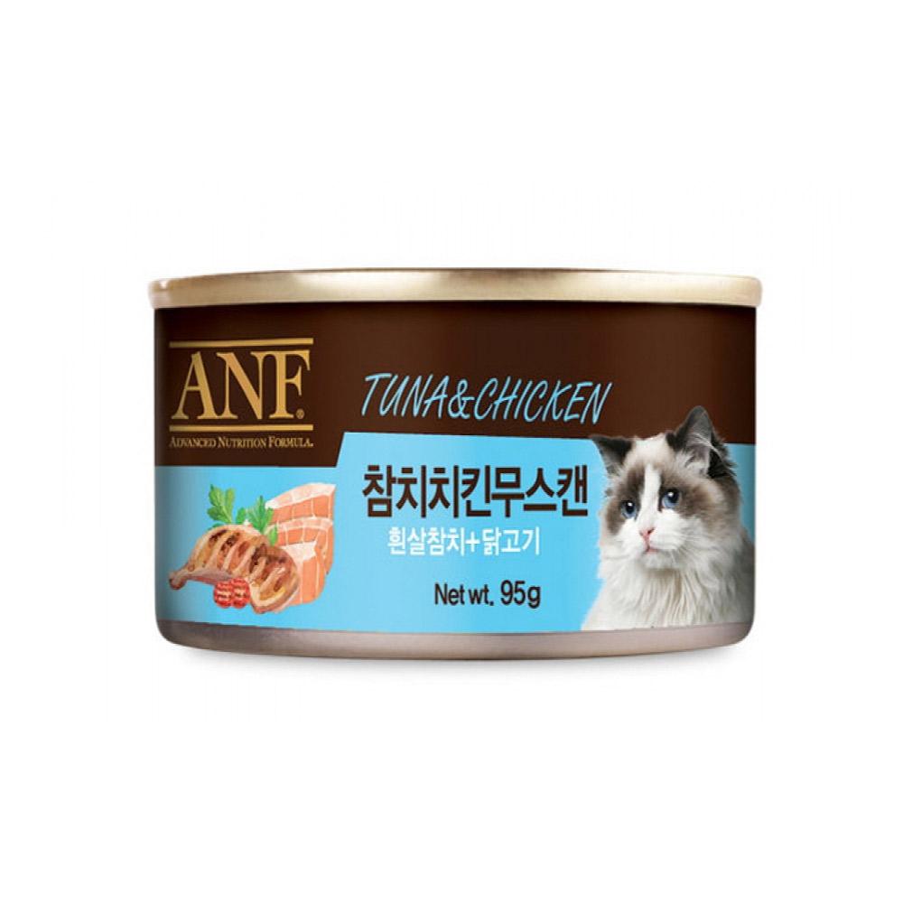 ANF 참치치킨무스 고양이캔 95g
