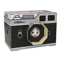 캐티맨 고양이 하우스형 카메라 스크래쳐