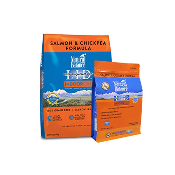 내추럴발란스 LID 인도어 연어 병아리콩 캣 포뮬라 1.36kg