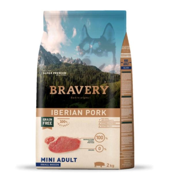 브레이버리 이베리안포크 어덜트 사료 2kg