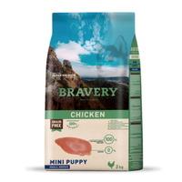 (유통기한21.01.03)브레이버리 치킨 퍼피 사료 2kg