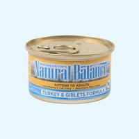(유통기한21.03.12)내추럴발란스 고양이 캔 포뮬라 터키 85g