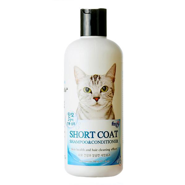 포켄스 단모용 고양이 샴푸 컨디셔너 300ml