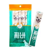 (유통기한21.03.01)짜바 강아지 유산균 간식 오리