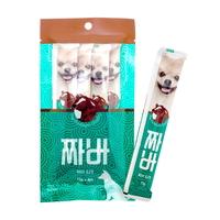 (유통기한21.03.01)짜바 강아지 유산균 간식 소고기
