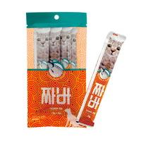 (유통기한21.07.26)짜바 고양이 츄르 유산균 간식 연어
