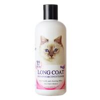 (유통기한21.08.22)포켄스 고양이 장모용 샴푸 컨디셔너 300ml