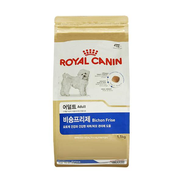 로얄캐닌 애견사료 비숑 어덜트 1.5kg