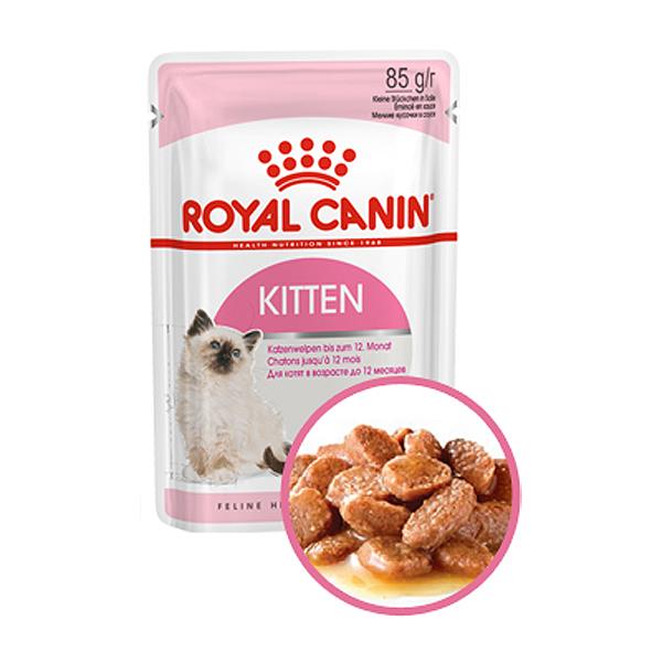 로얄캐닌 고양이사료 습식 키튼 85g