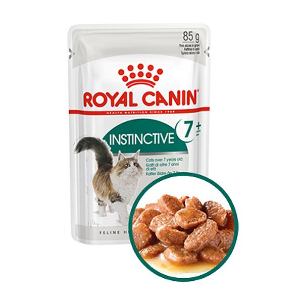 로얄캐닌 고양이사료 습식 인스팅티브 7세 이상 85g