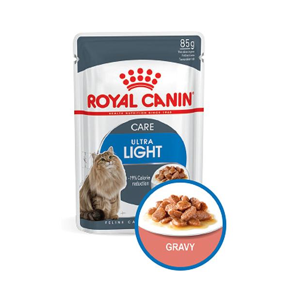 로얄캐닌 고양이사료 습식 울트라 라이트 케어 85g
