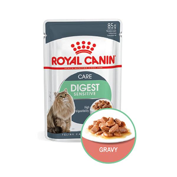 로얄캐닌 고양이사료 습식 다이제스트 센서티브 케어 85g