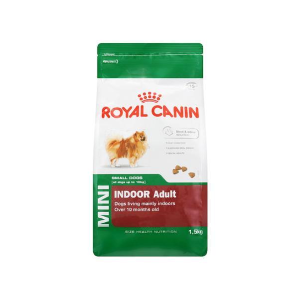 로얄캐닌 애견사료 인도어 어덜트 1.5kg