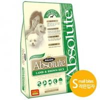 앱솔루트 홀리스틱 강아지 사료 양고기 현미 스몰바이트 14kg