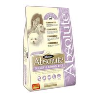 (유통기한21.03.14)앱솔루트 홀리스틱 강아지 사료 칠면조 현미 14kg