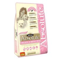 (유통기한21.03.04)앱솔루트 홀리스틱 강아지 사료 닭고기 현미 7kg
