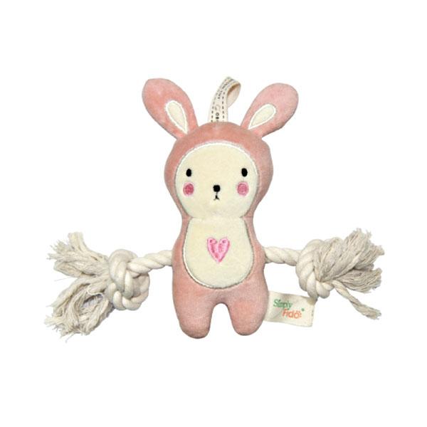 심플리파이도 핑크버니 로프 오가닉장난감