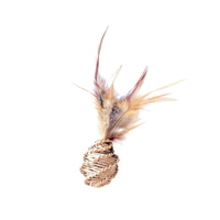 칼리 고양이 깃털 내추럴 장난감