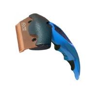 (특가)훌리 에보 죽은털제거 브러쉬 블루 S