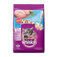 위스카스 고양이 사료 키튼 오션피쉬와 우유1.1kg