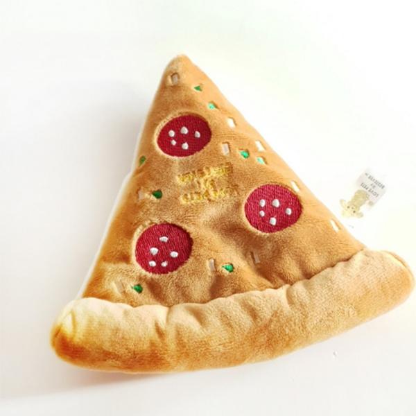 에이미러브즈펫 강아지 장난감 피자 인형