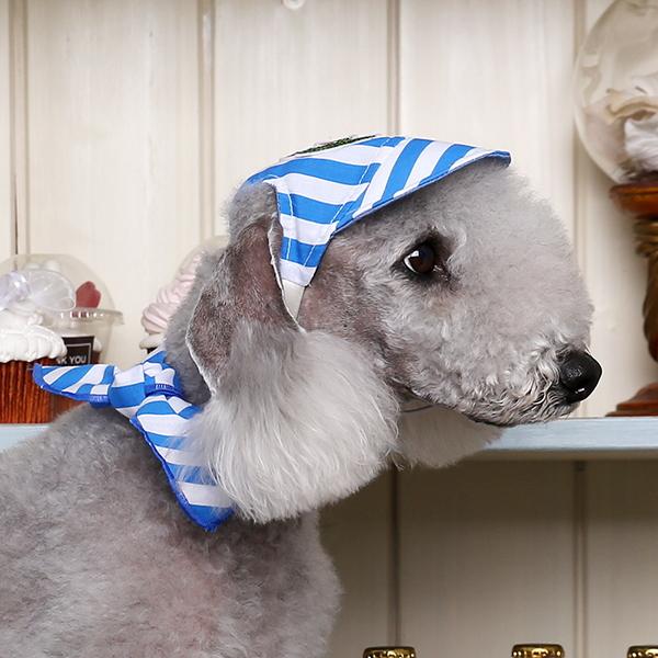 여름용 양면 모자 블루