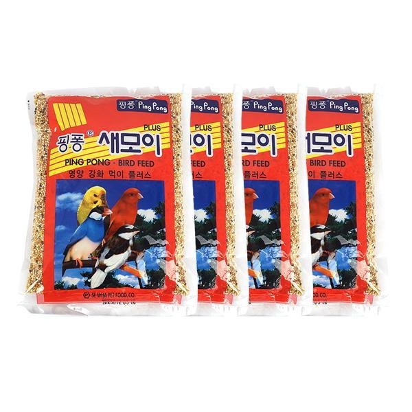 핑퐁 영양강화 새모이 500g 4개