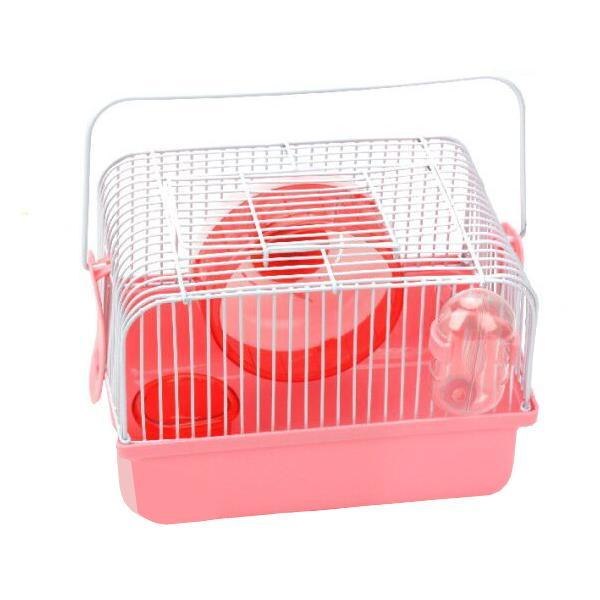 New Age  햄스터 휴대형 케이지 핑크 (NA-H146)