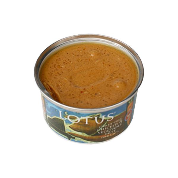 로투스 고양이 캔 그레인프리 치킨 앤 야채 파테 150g