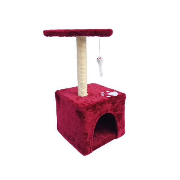 레츠펫 고양이 캣타워 레드하우스