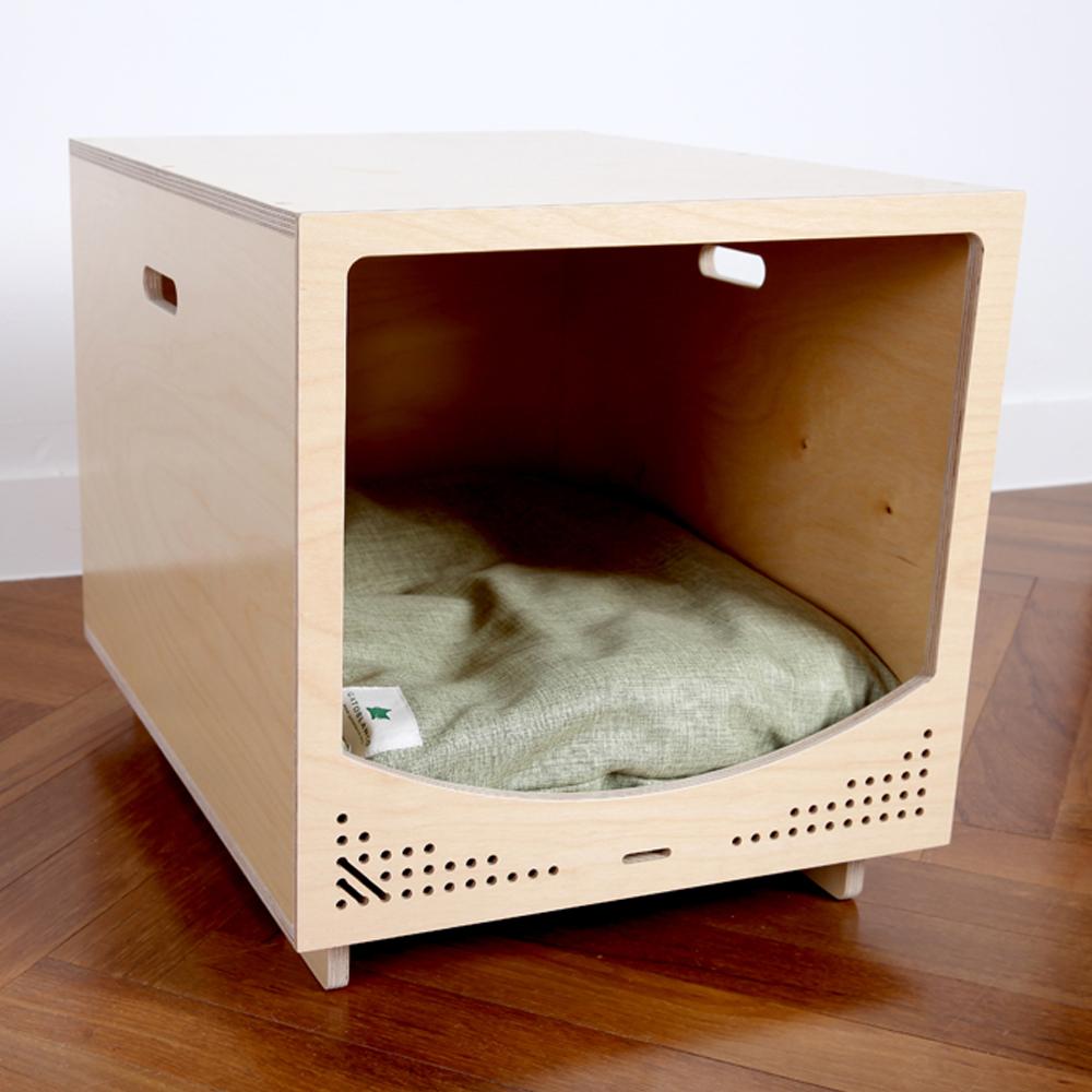 가또블랑코 강아지 고양이 나무 모던 큐브 하우스