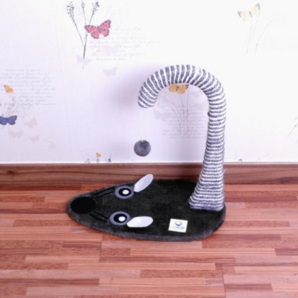 고양이 장난감 기둥형 쥐모양 스크래쳐 CM CMK30756