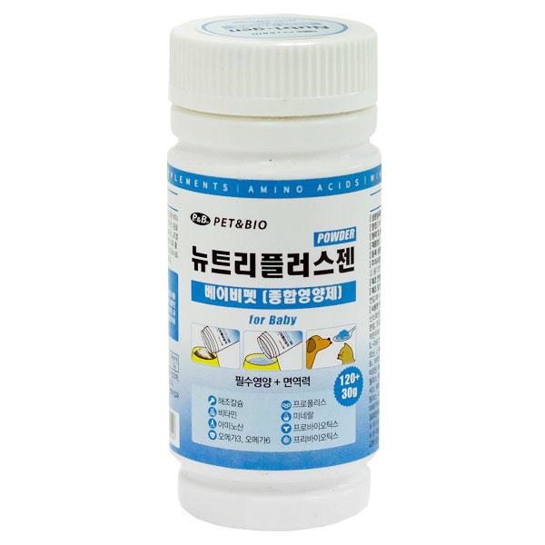 뉴트리플러스젠 종합 강아지영양제 유아기용 150g